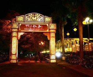 Phố đi bộ Nguyễn Đình Chiểu Huế
