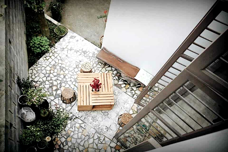 ve-dep-binh-yen-cua-homestay-mosaic-garden-o-hue